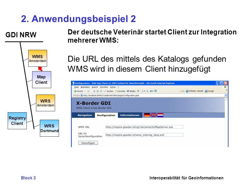 2. Anwendungsbeispiel 2 Die URL des mittels des Katalogs gefunden