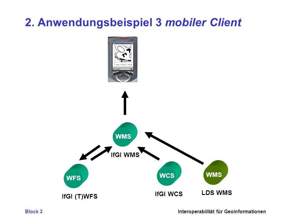 2. Anwendungsbeispiel 3 mobiler Client