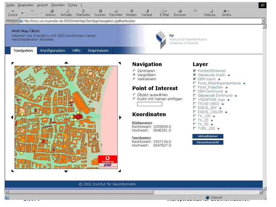 Vodafone/IfGI Mapping Client