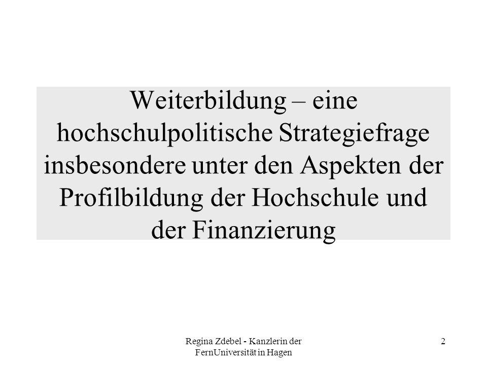 Regina Zdebel - Kanzlerin der FernUniversität in Hagen