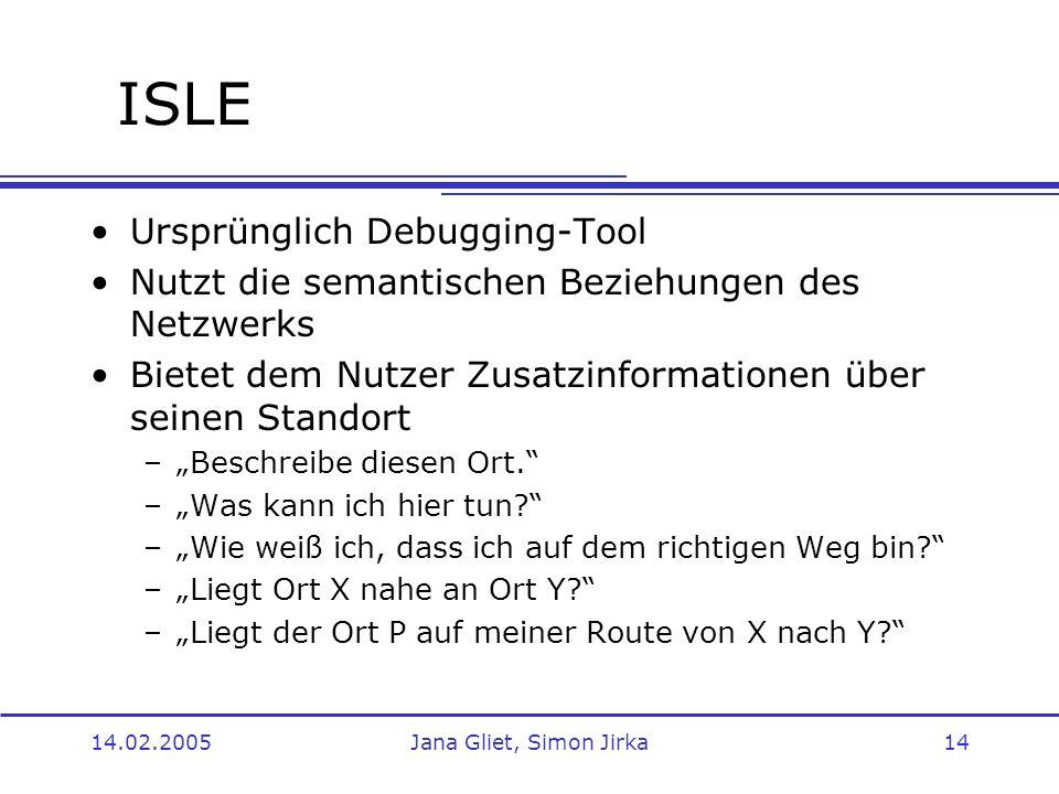 ISLE Ursprünglich Debugging-Tool