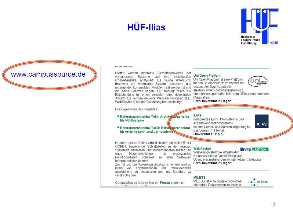 HÜF-Ilias www.campussource.de