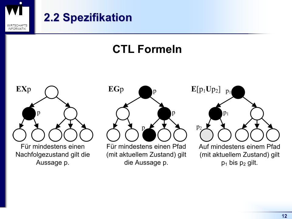 2.2 Spezifikation CTL Formeln