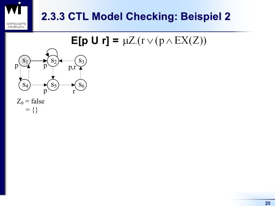2.3.3 CTL Model Checking: Beispiel 2