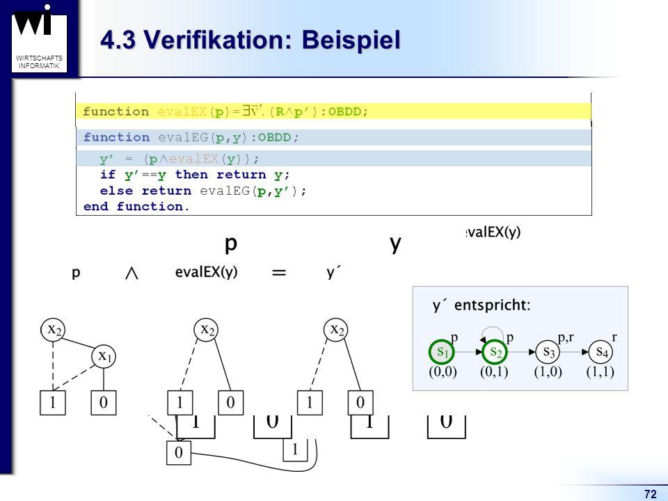 4.3 Verifikation: Beispiel