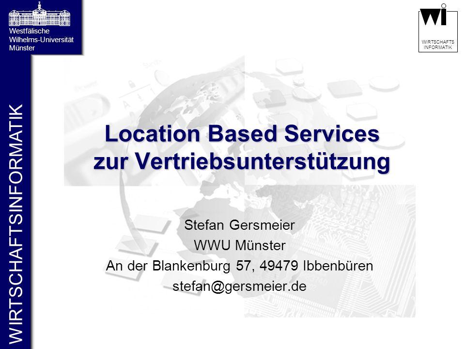 Location Based Services zur Vertriebsunterstützung