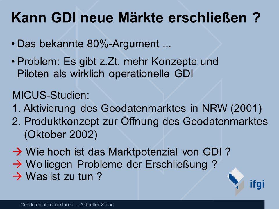 Kann GDI neue Märkte erschließen