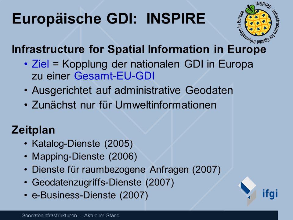Europäische GDI: INSPIRE