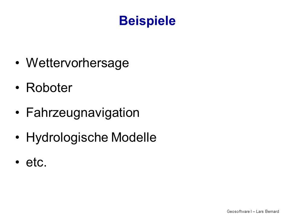 Hydrologische Modelle etc.