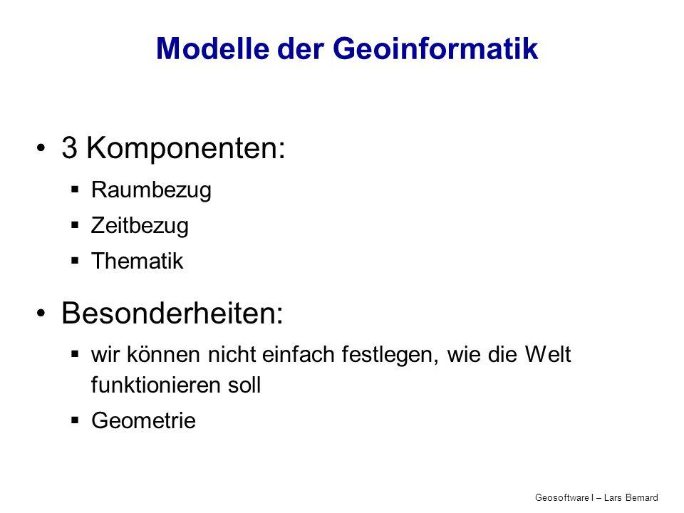 Modelle der Geoinformatik