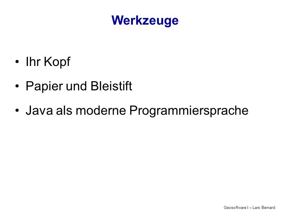 Java als moderne Programmiersprache