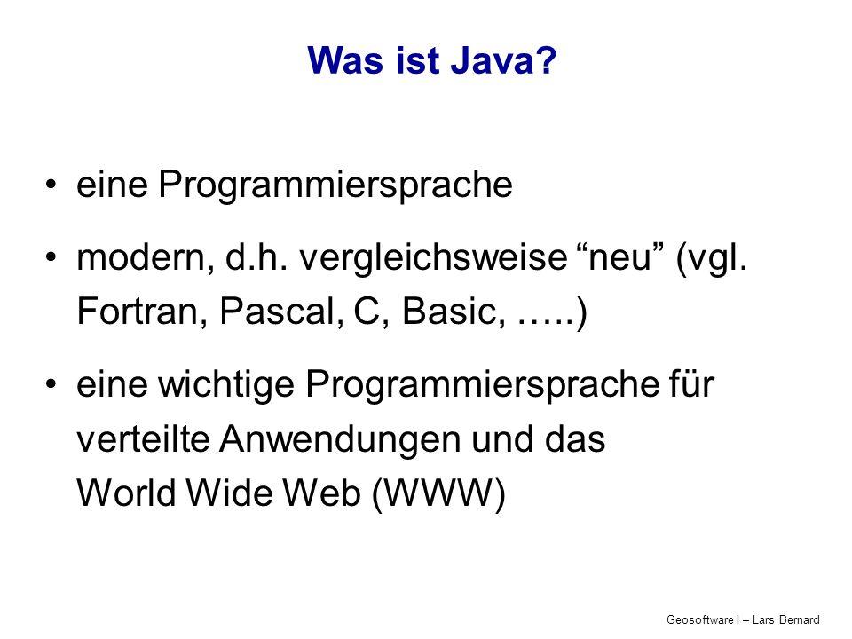 eine Programmiersprache