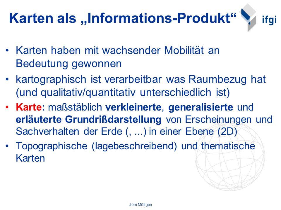 """Karten als """"Informations-Produkt"""