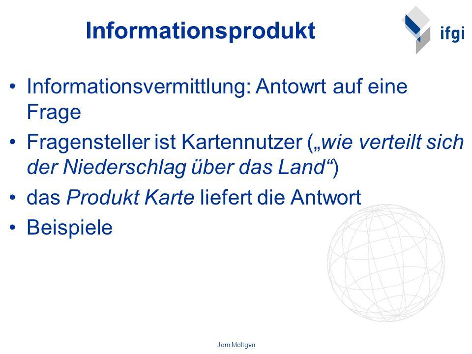 Informationsprodukt Informationsvermittlung: Antowrt auf eine Frage