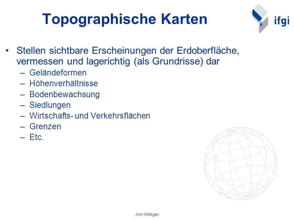 Topographische Karten