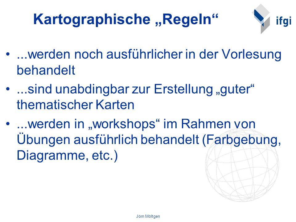 """Kartographische """"Regeln"""