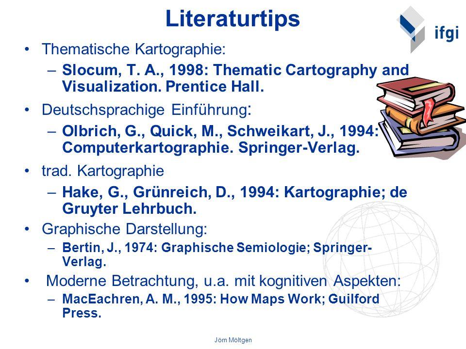 Literaturtips Thematische Kartographie: