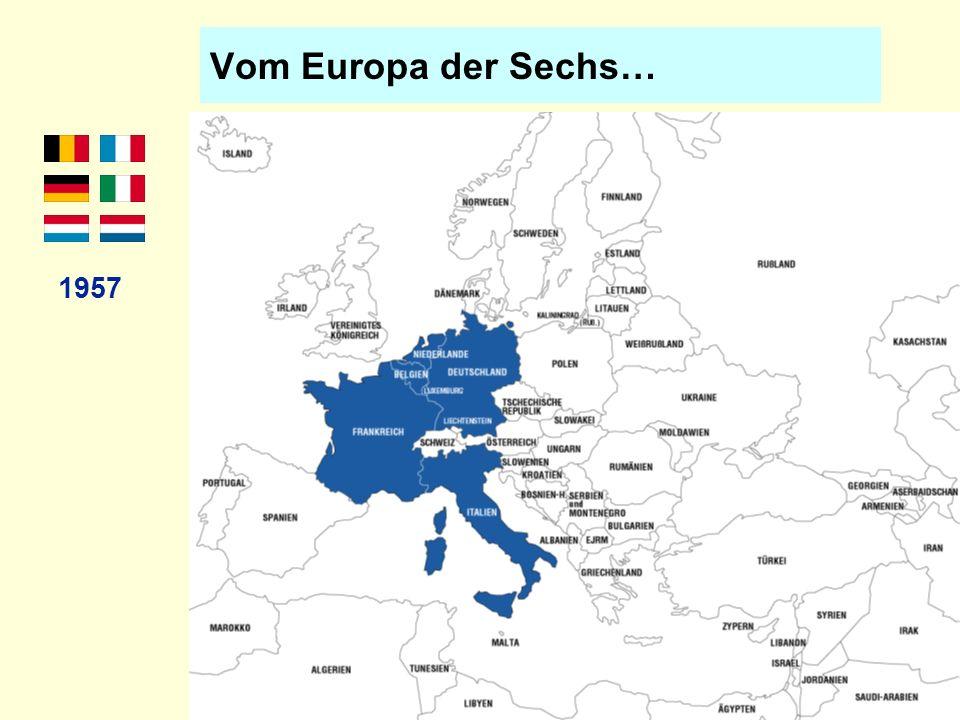 Vom Europa der Sechs… 1957
