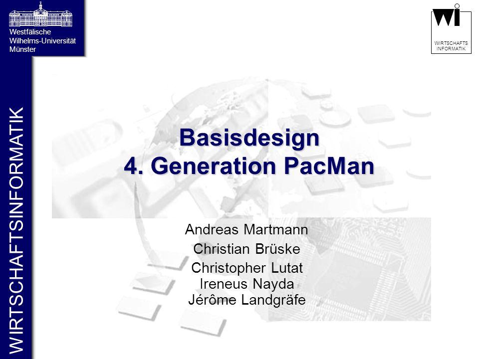 Basisdesign 4. Generation PacMan