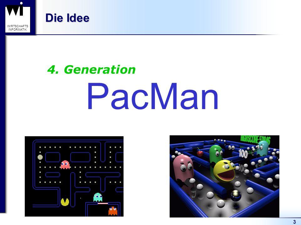 Die Idee 4. Generation PacMan