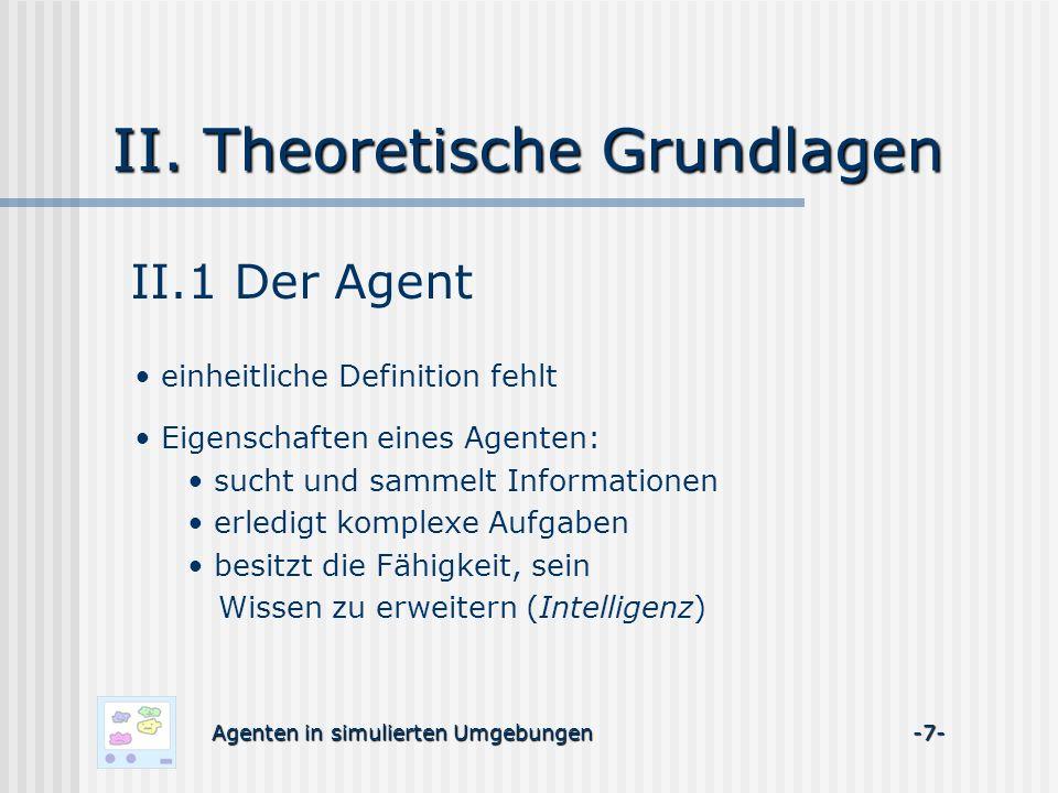 II. Theoretische Grundlagen