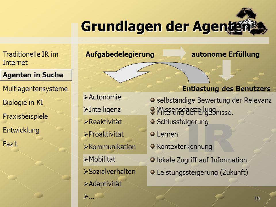 Grundlagen der Agenten