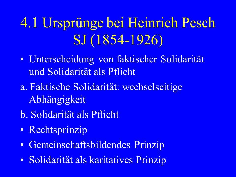 4.1 Ursprünge bei Heinrich Pesch SJ (1854-1926)