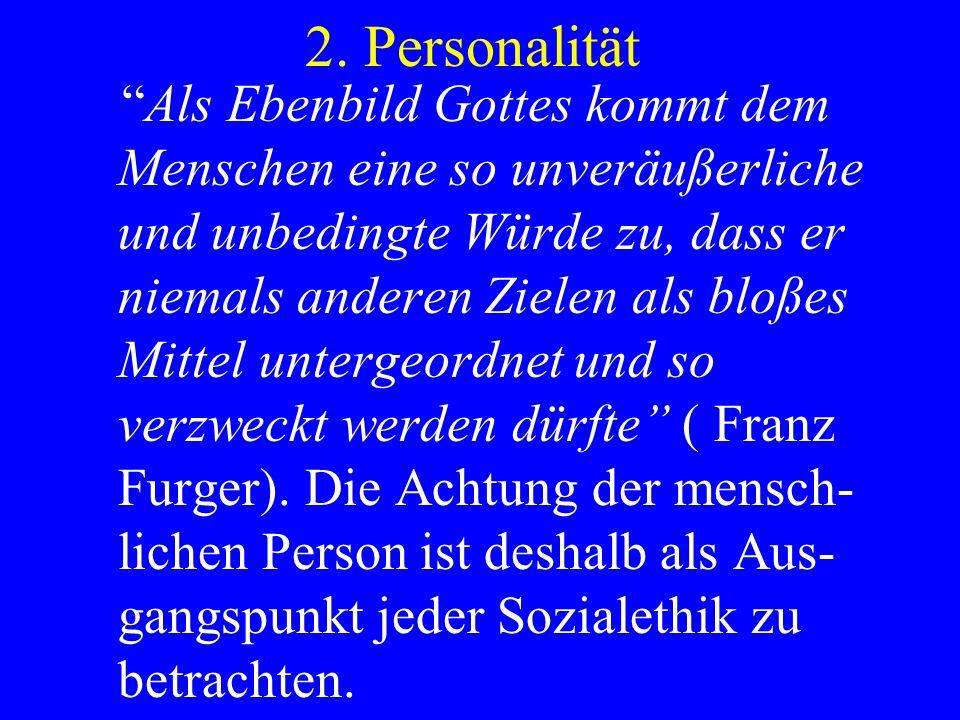 2. Personalität