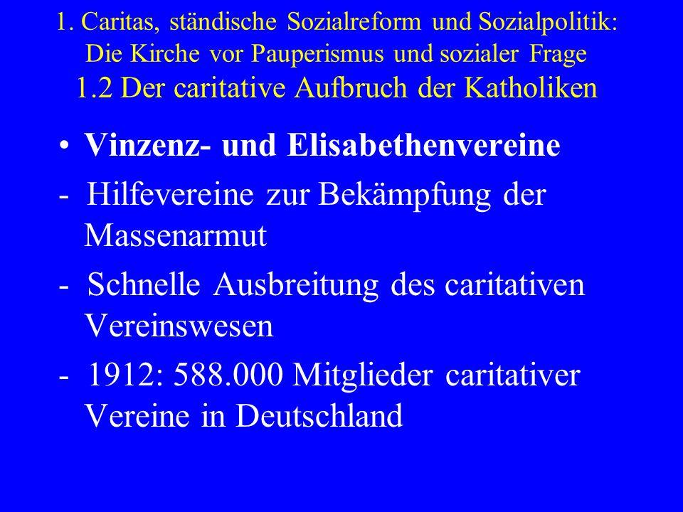Vinzenz- und Elisabethenvereine