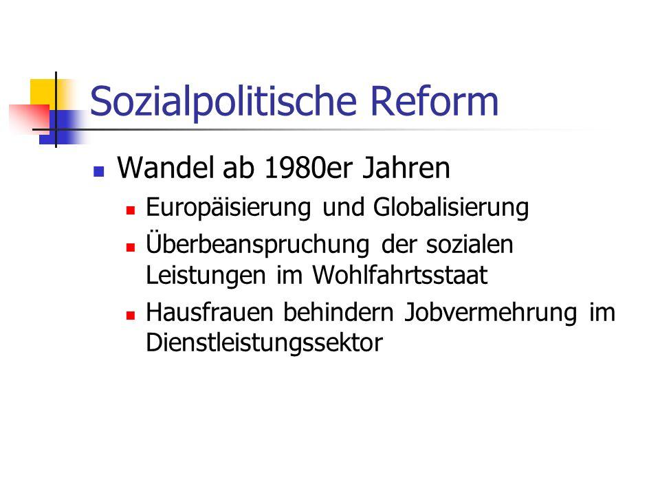 Sozialpolitische Reform
