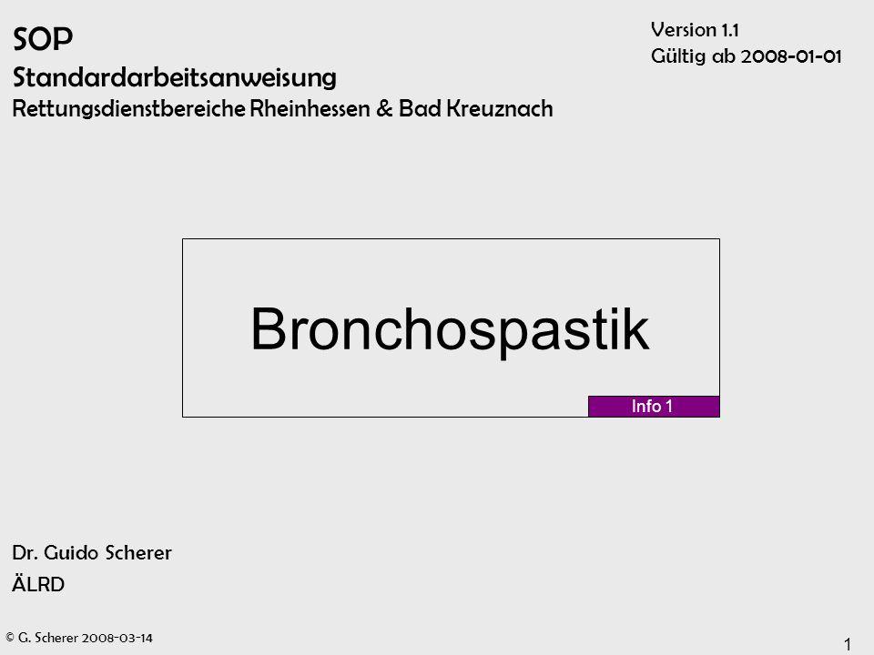 SOP Standardarbeitsanweisung Rettungsdienstbereiche Rheinhessen & Bad Kreuznach