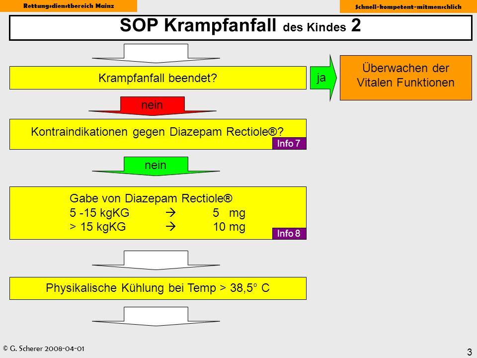 SOP Krampfanfall des Kindes 2