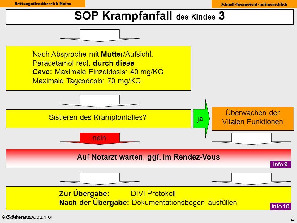 SOP Krampfanfall des Kindes 3