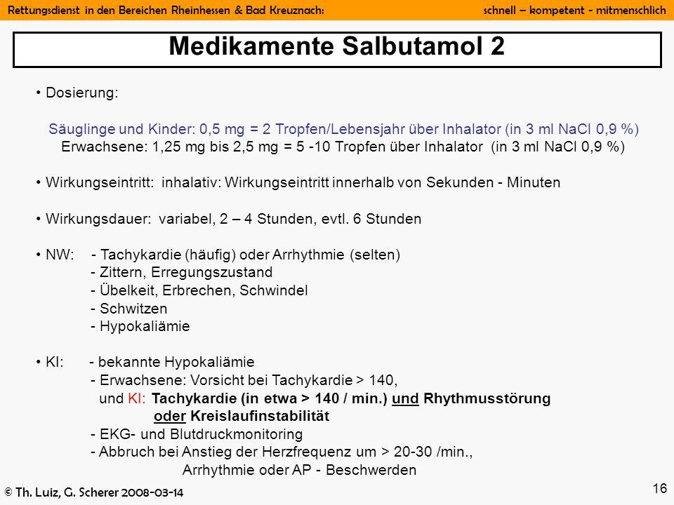 Medikamente Salbutamol 2