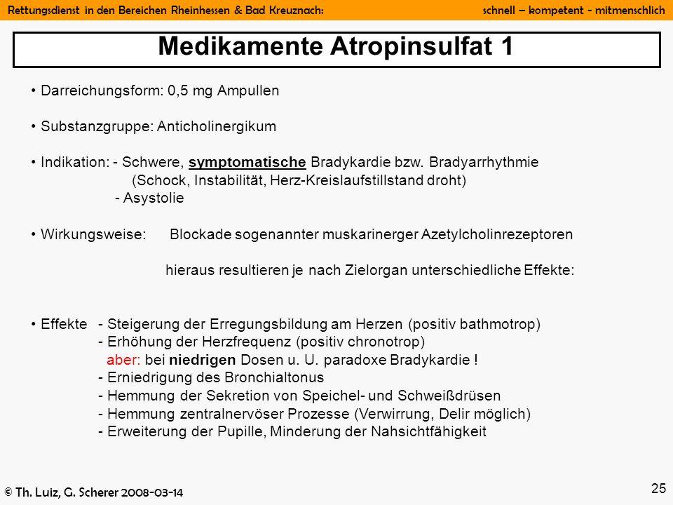 Medikamente Atropinsulfat 1