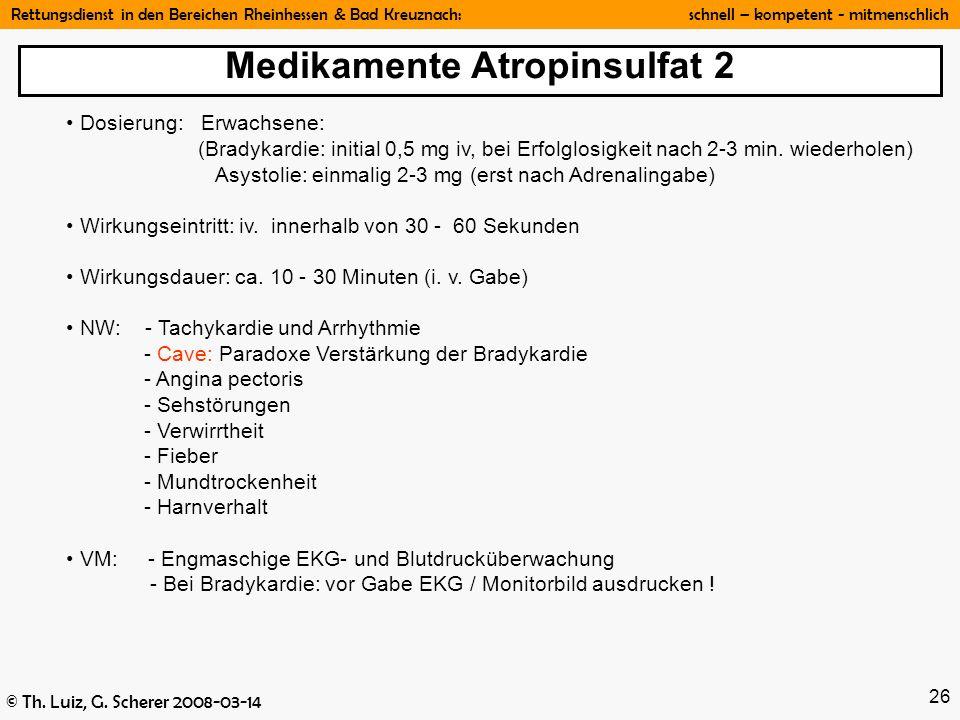 Medikamente Atropinsulfat 2