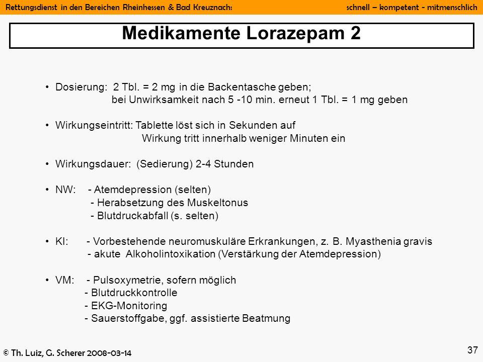 Medikamente Lorazepam 2