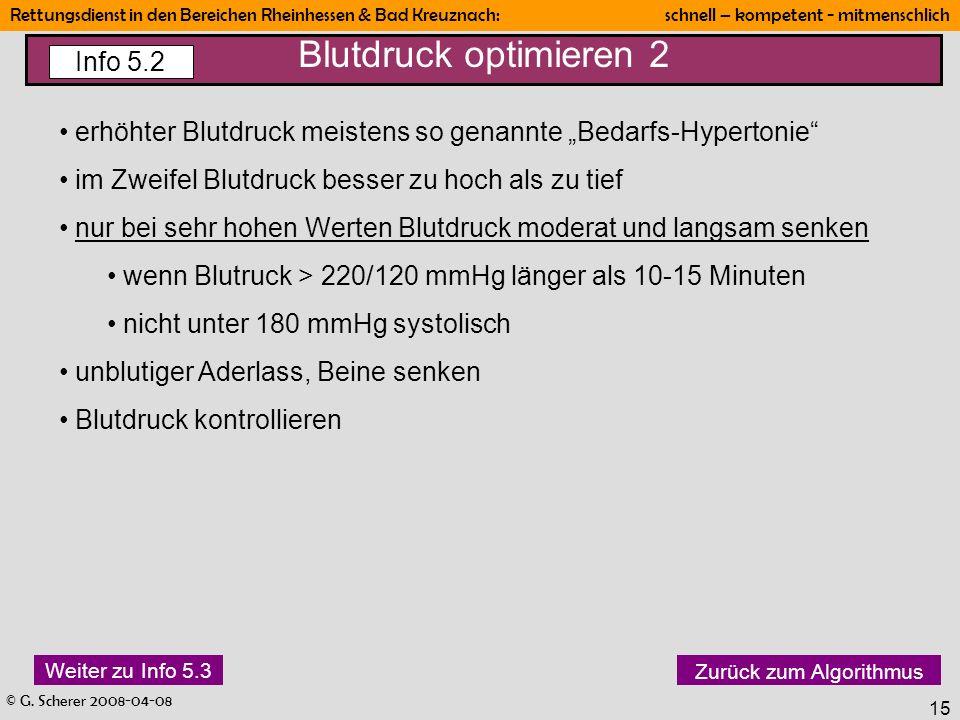 Blutdruck optimieren 2 Info 5.2