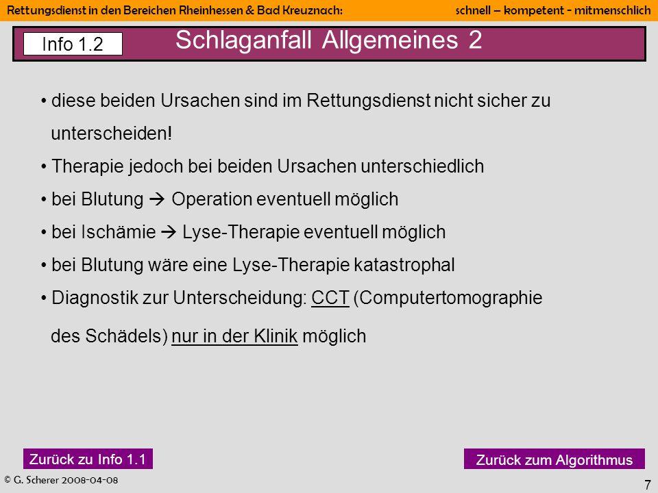 Schlaganfall Allgemeines 2