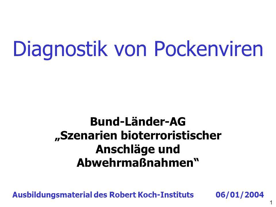 Diagnostik von Pockenviren