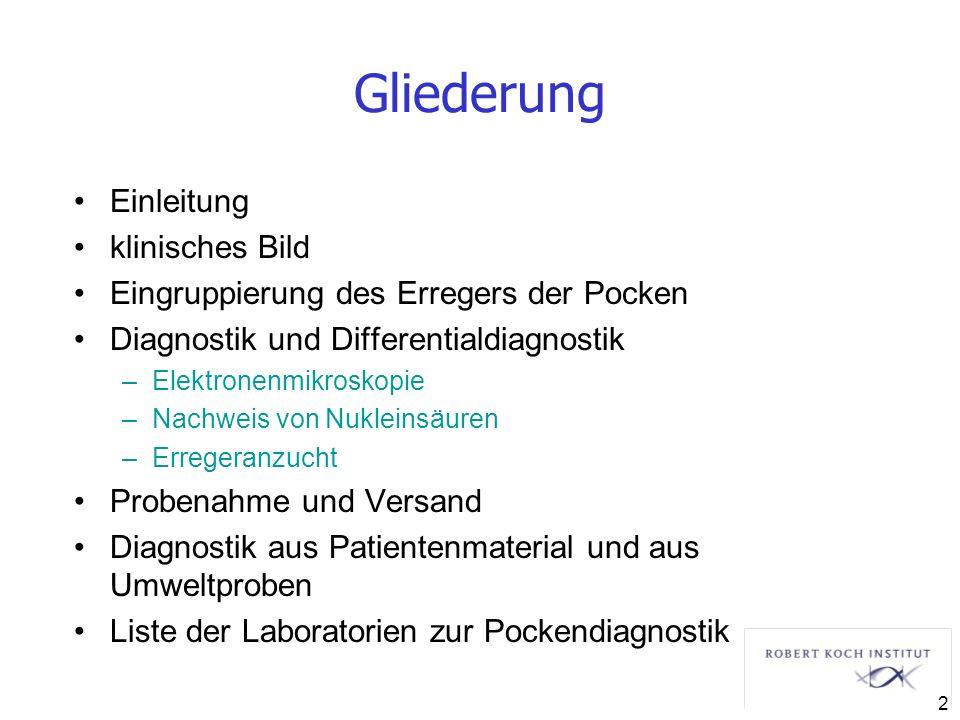 Gliederung Einleitung klinisches Bild