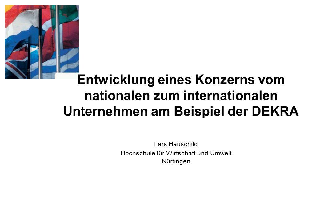 Lars Hauschild Hochschule für Wirtschaft und Umwelt Nürtingen