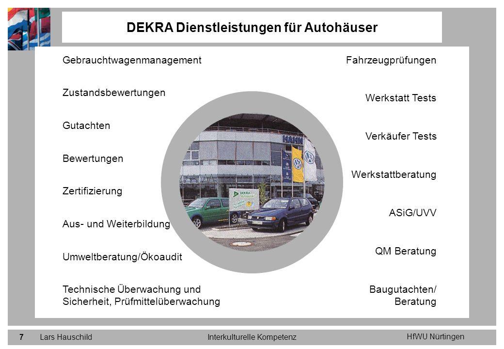 DEKRA Dienstleistungen für Autohäuser