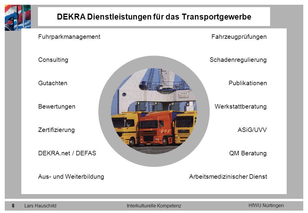 DEKRA Dienstleistungen für das Transportgewerbe