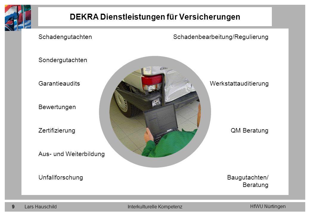 DEKRA Dienstleistungen für Versicherungen