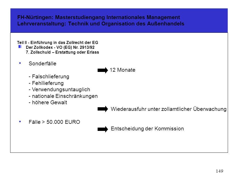 Fälle > 50.000 EURO Entscheidung der Kommission