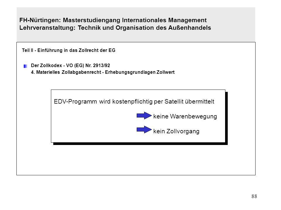 EDV-Programm wird kostenpflichtig per Satellit übermittelt