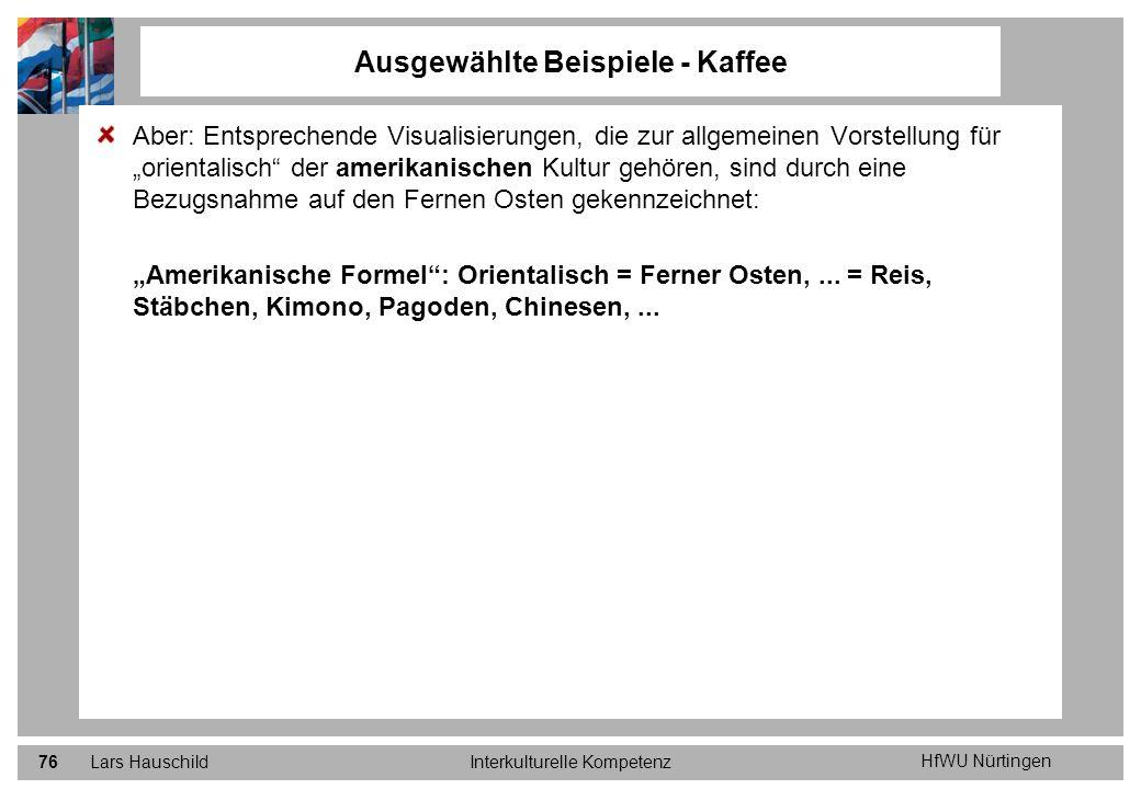 Ausgewählte Beispiele - Kaffee