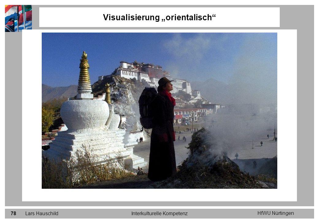 """Visualisierung """"orientalisch"""
