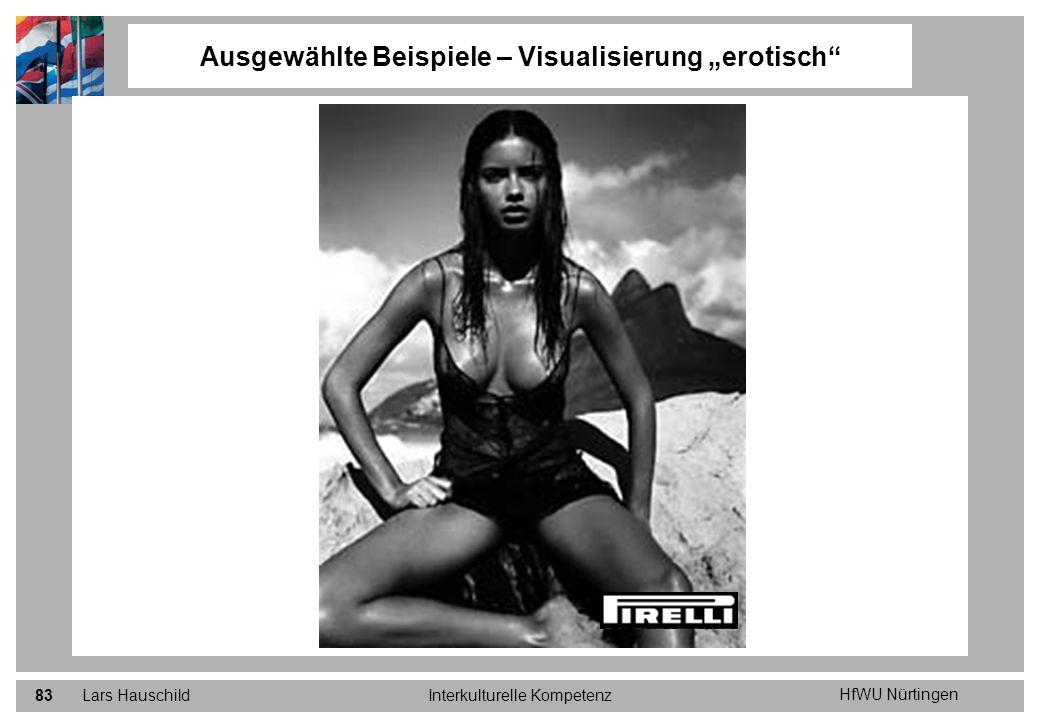 """Ausgewählte Beispiele – Visualisierung """"erotisch"""